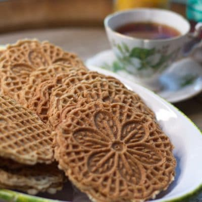 Gluten Free Pizzelle Recipe with Traditional Anise Seed Flavor