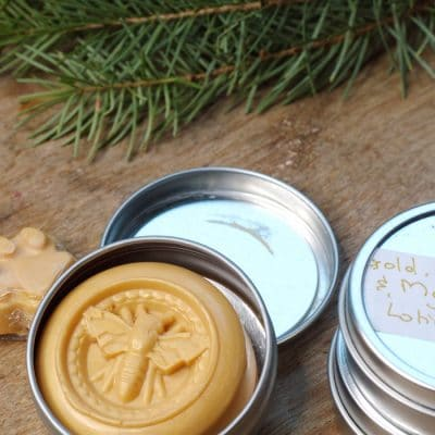 Christmas Lotion Bars for a Luxury Gift that's Richly Moisturizing