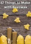 "Bees made out of beeswax ""flying around"" beeswax bee hive candles"