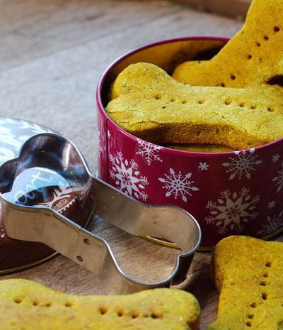 dog biscuits as a gift for your pet
