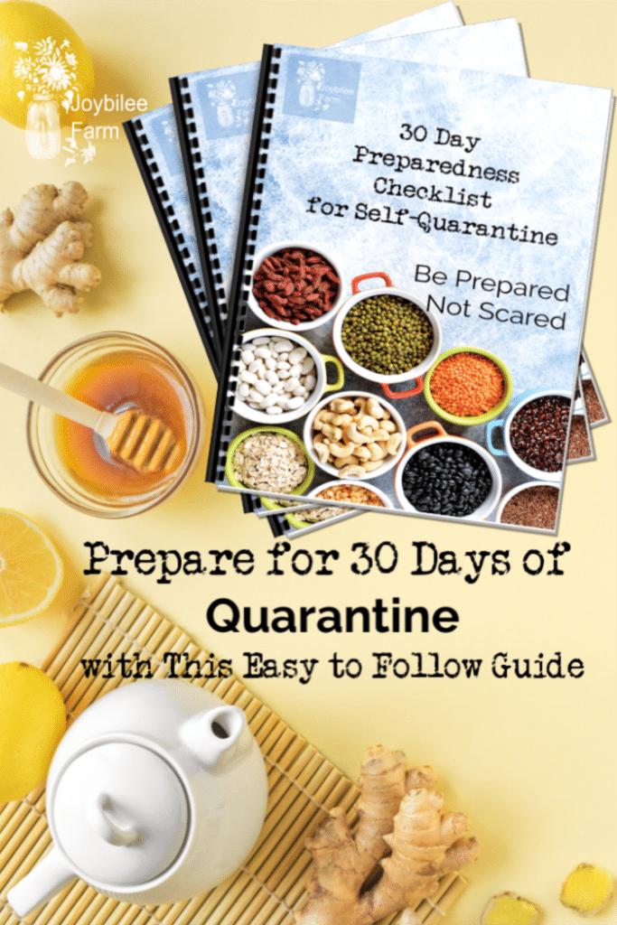 30 Day Preparedness Checklist booklet cover