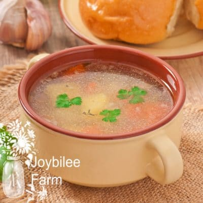 Grandma's Chicken Soup that Anyone can Cook from Scratch