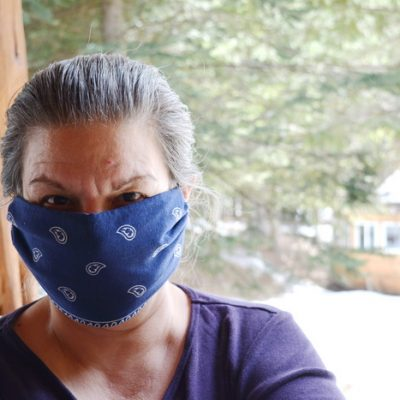 How to Make a No-Sew Face Mask Using a Bandanna