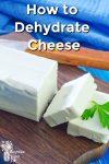Feta cheese on a cutting board