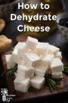 Fresh cut feta cheese on a board