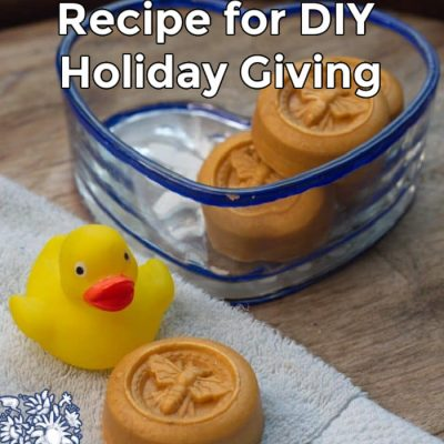 Frankincense and Myrrh Soap Recipe for DIY Holiday Giving